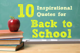 10 Inspirational Quotes for the Back to School Season! | Babble via Relatably.com