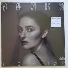 <b>BANKS - The Altar</b> (2016, Clear With Smoky Grey Swirls, Vinyl ...