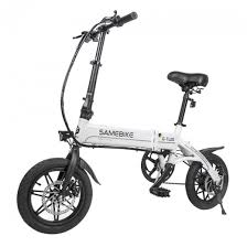 <b>Samebike YINYU14 Smart Foldable</b> Moped Electric Bike 250W ...