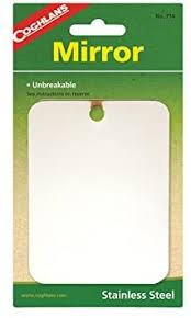 Coghlan's Stainless Steel Mirror : Personal Makeup ... - Amazon.com