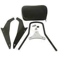 <b>Black Detachable Sissy Bar</b> Backrest For Suzuki Boulevard M109R ...