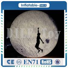 2019 4m <b>Inflatable Moon Balloon</b> Giant <b>Inflatable Moon</b>, Lighting ...