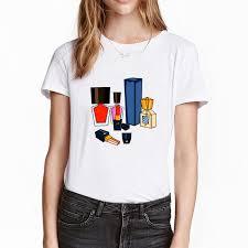 <b>Colorful</b> nail polish <b>3D print</b> vogue t shirt women summer <b>hipster</b> ...