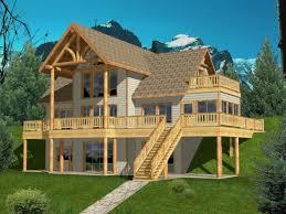 Drive Under House Plans   Home Designs   Garage Below