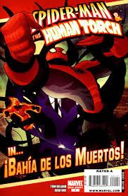 spider man the human torch in iexcl bah iacute a de los muertos vol  sm and ht in bahia de los muertos vol 1 1