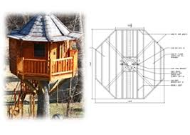 Tree House Plans  amp  DesignQuick View this Product Octagon Treehouse