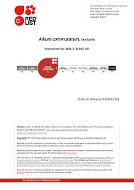 (PDF) Allium commutatum