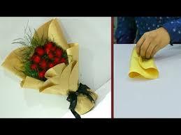 3 способа красиво упаковать букет в крафт-<b>бумагу</b> | ArtHolidays ...
