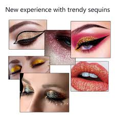 bloom   <b>MISS ROSE</b> Makeup Eyeshadow Palette <b>Shimmer Sequin</b> ...