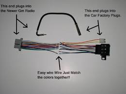 new factory radio stereo installation delco 16140051 wire wiring Stereo Wiring Harness photobucket video and image hosting stereo wiring harness diagram