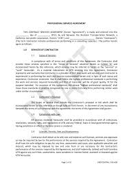 service contract template templates in pdf word excel professional services agreement