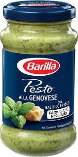 Barilla Pesto Genovese соус песто, 190 г — купить в интернет ...