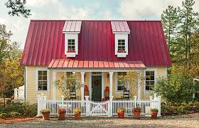 Garden Home Cottage     Southern Living House Plans