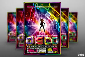 revival flyer template photos graphics fonts themes templates remember disco flyer template