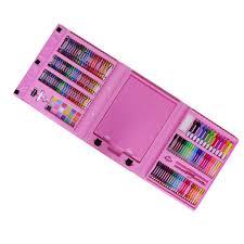 176pcs <b>Kids</b> Drawing Kit Watercolor <b>Painting Pen</b> Color Pencils with ...