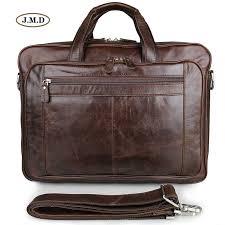 <b>J.M.D</b> Hot Selling <b>Genuine Leather</b> Brown Handbag Male Fashion ...