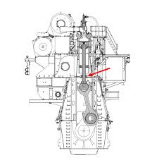 world s largest diesel man s record breaking 12s90me c this cross section diagram of the engine offers a good view of the internals especially the crankshaft two piece piston rod piston valve and exhaust