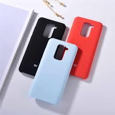 <b>Liquid Silicone Mobile Phone</b> Case For Xiaomi Redmi Note 9 ...