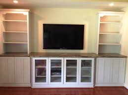 furniture fascinating tv wall mount with shelves ceiling white solid wood cabinet glass door and built furniture living room