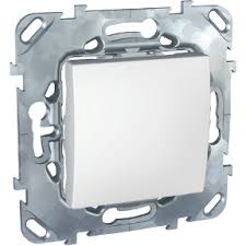 MGU5.201.18ZD - <b>Одноклавишный</b> выключатель (СХ.1) белый ...