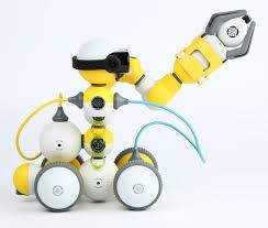Купить Детский <b>конструктор</b>-<b>робот</b> Bell.AI <b>Mabot C</b> ...