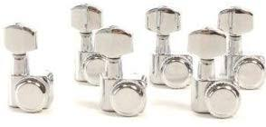 chrome guitar locking tuners silver electric machine heads jn 07sp lock tuning pegs with packaging
