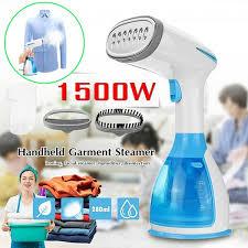<b>1500W Handheld Portable</b> Clothes Garment Steamers Fabric ...