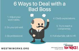 6 ways to deal a bad boss news holland sentinel holland mi