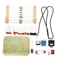 <b>3Pcs</b> FM Transmitter Kit <b>RF</b>-02 <b>Wireless</b> Microphone Parts MP3 ...