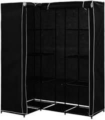 yorten <b>Corner Wardrobe Practical</b> Iron Frame Durable Space Saving ...