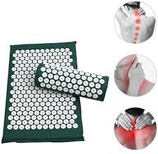Anself <b>Acupressure Mat</b> and <b>Pillow</b> Tapis Acupression <b>Acupuncture</b> ...