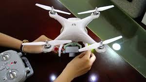 Радиоуправляемый <b>квадрокоптер WL Toys</b> X1 WLT-X1 - YouTube