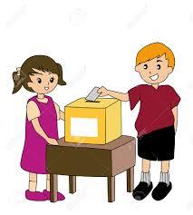 Resultado de imagen de ilustraciones de urnas y votos