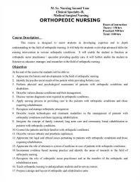 orthopedic registered nurse resume      orthopedic nurse resume  sample orthopedic nurse resumes
