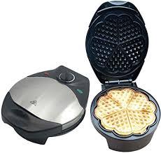 FJNS <b>1200W Electric Waffle Maker</b> - Electric Waffle Machine with ...