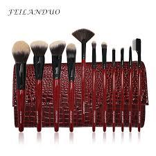11pcs cosmetis makeup brushes set foundation powder concealer make up blending contour maquiagem