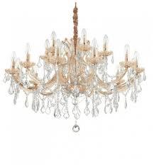 Подвесная <b>люстра Ideal Lux Napoleon</b> SP18 Oro — купить по ...