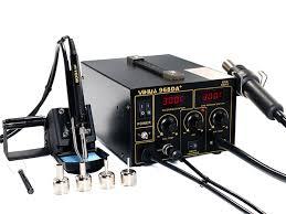 <b>Паяльные станции</b> с поглотителем паяльного дыма <b>YIHUA</b>-<b>968DB+</b>