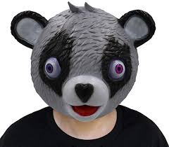 Miminuo Bear <b>Game Mask</b> Cuddle Team Leader <b>Halloween</b> ...