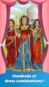 indian bride dress up fun doll makeover game screenshot 3
