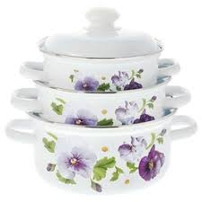 <b>Наборы посуды</b> для готовки Лысьвенский завод <b>эмалированной</b> ...
