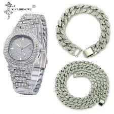 top 9 most popular hip hop gold <b>watches men</b> near me and get free ...