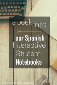 best images about spanish classroom activities interactive notebooks in spanish