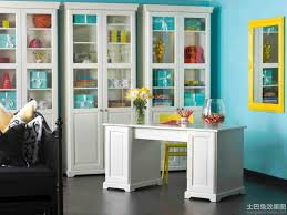 storage for office at home blue home office with white storage cases blue home office ideas home office