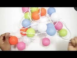 E-foxer <b>LED Cotton ball String</b> Lights Review