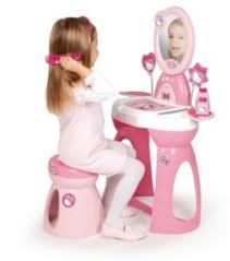 Детский туалетный столик и набор парикмахера
