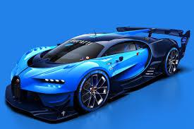 Of Bugattis This Is The Bugatti Vision Gran Turismo The Verge