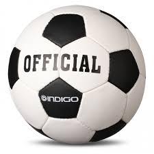 <b>Мяч</b> футбольный <b>№5 Indigo OFFICIAL</b> тренировочный (PU 1.2 мм ...