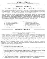 personal trainer resume personal trainer personal personal trainer resume