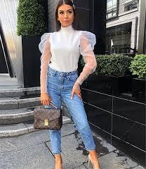 <b>2019 New Fashion</b> Women <b>Sheer</b> Mesh Puff Long Sleeve Turtle ...